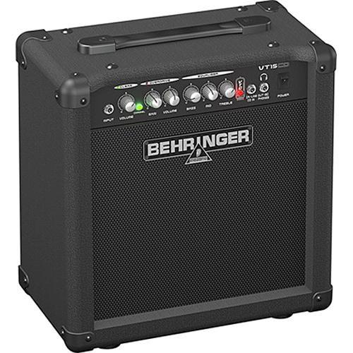 """Behringer Virtube VT15CD 2-Channel Guitar Amplifier with CD Input & 8"""" Speaker (15W)"""