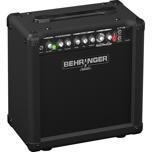 "Behringer VT15FX 2-Channel Guitar Amplifier with DSP Effects and 8"" Speaker (15W)"