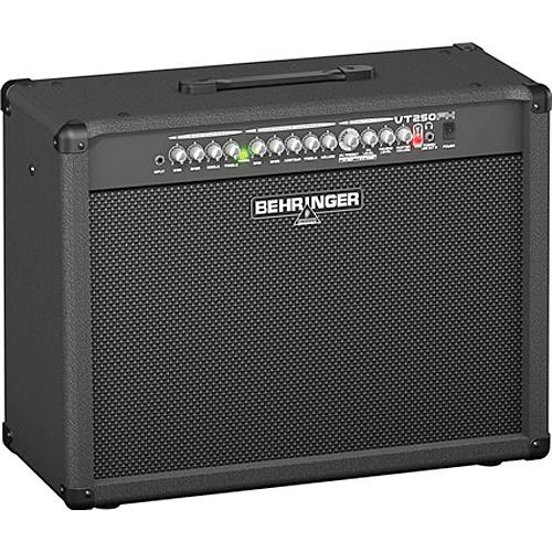 "Behringer VT250FX 2-Channel Guitar Amplifier with DSP Effects and Dual 12"" Speaker (200W)"