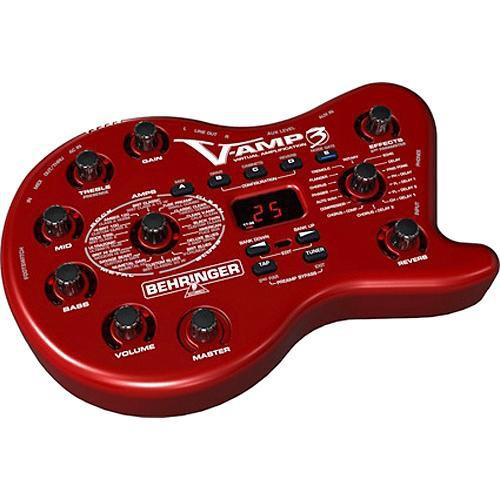 Behringer V-AMP3 Guitar Amp Modeler and Multi-Effects Processor