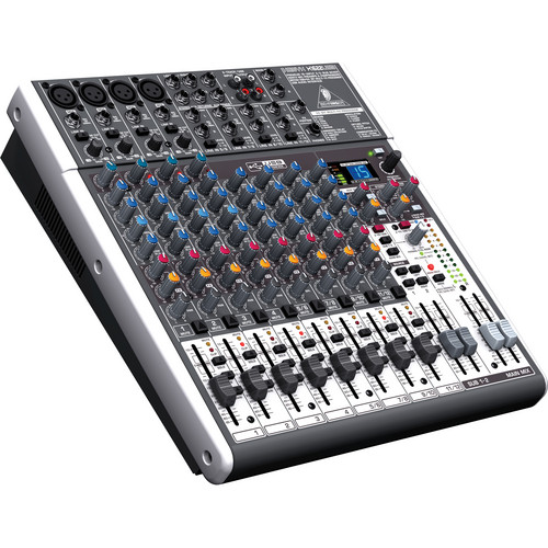 Behringer XENYX X1622USB 16-Channel USB Mixer with Padded Bag Kit