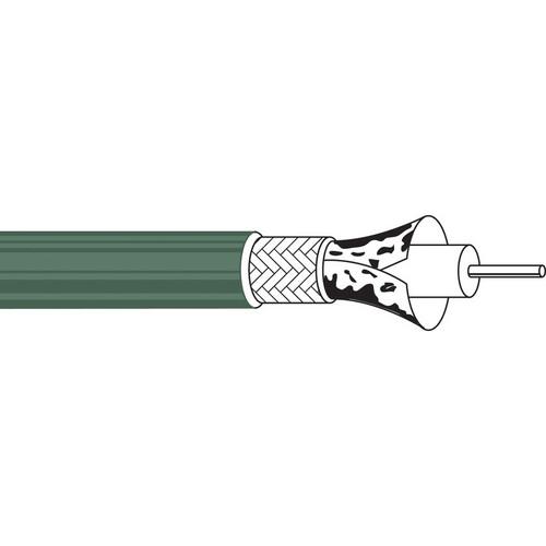 Belden 1855A Sub Miniature Video Coax 23 AWG 1000 ft Green