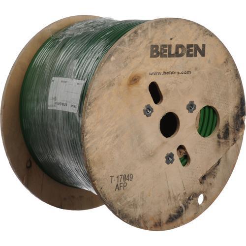 Belden 1694F 18AWG RG6/U Coax Cable 1000' (Green)