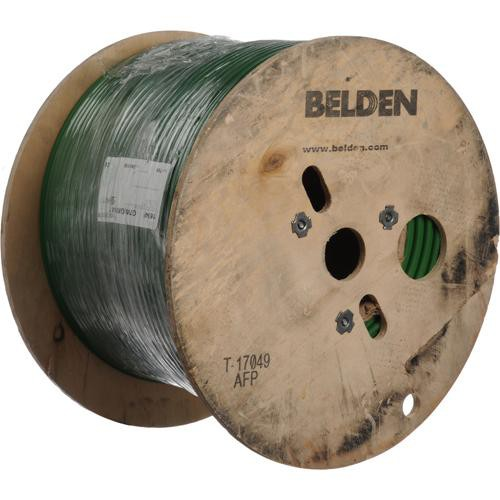Belden 1694F 18AWG RG6/U Coax Cable 1000' (Green)