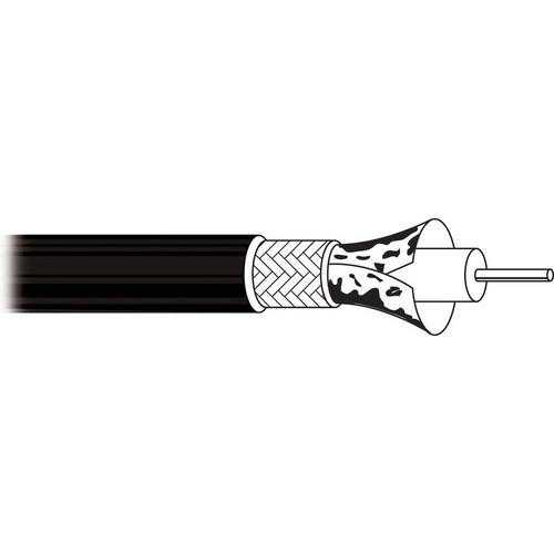 Belden 1855A Sub Miniature Coax Black with BNC Connectors 1 ft