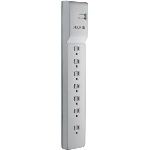 Belkin 7-Outlet Commercial Surge Protector (7' (2.1 m))