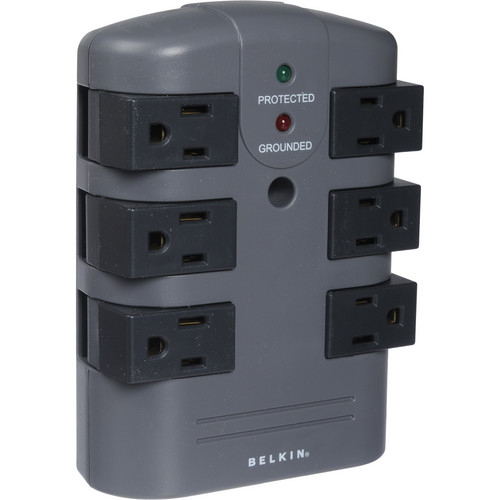 Belkin BP106000 PivotPlug 6-Outlet Surge Protector