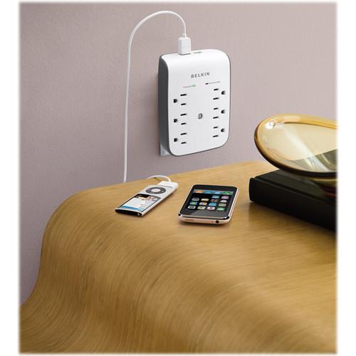 Belkin USB Charging 6-Outlet Surge Protector