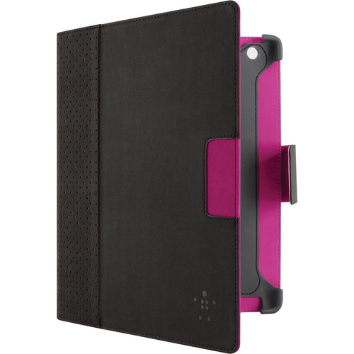 Belkin Cinema Dot Folio with Stand (Blacktop/Purple)