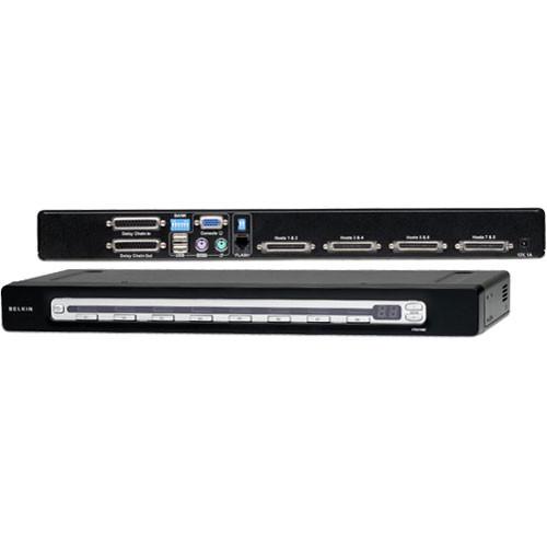 Belkin F1DA108Z 8-Port OmniView PRO3 USB & PS/2 KVM Switch