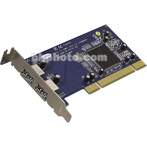 Belkin F5U219-LP Hi-Speed USB 2.0 3-Port Low Profile 32-bit PCI Card