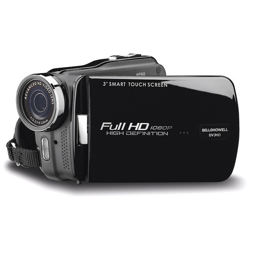 Bell & Howell DV3HDZ High-Definition 1080p Slim Camcorder