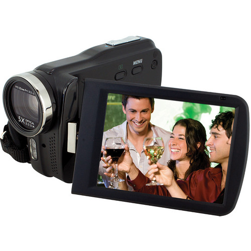 Bell & Howell DV5HDZ High Definition 1080p Slim Camcorder