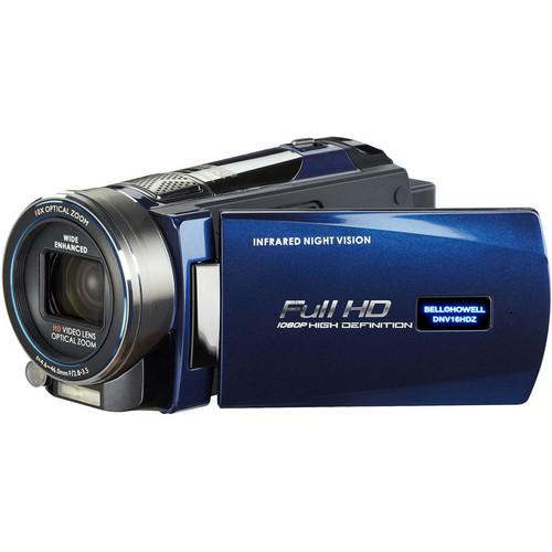Bell & Howell DNV16HDZ Full HD Rogue Night Vision Camcorder (Blue)