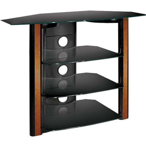 Bell'O AVSC-2122 Black Flat Panel A/V System with Real Wood Trim
