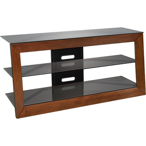Bell'O AVSC2151 Solidwood Framed A/V Furniture in Carmel Finish