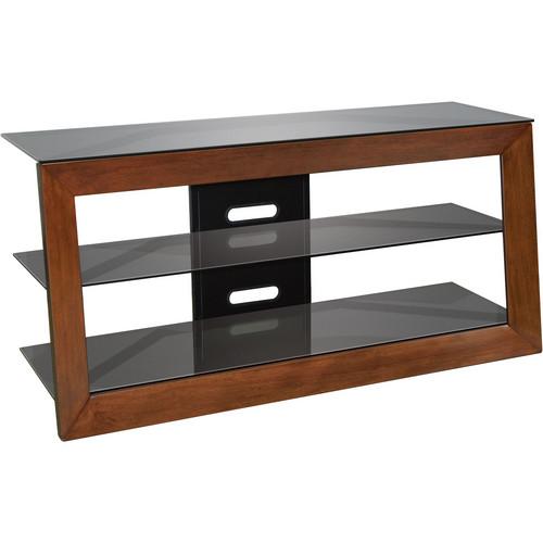 Bell'O AVSC2151 Solidwood Framed A/V Furniture in Carmel Finish