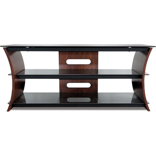 Bell'O CW356 Curved Wood TV Stand