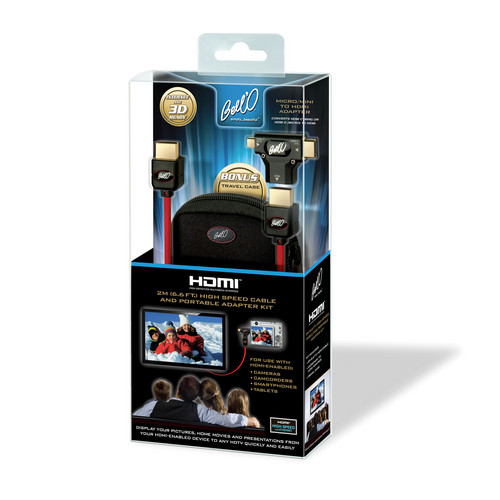 Bell'O HDMI Cable With Portable Adapter Kit