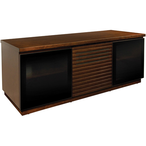 Bell'O PR11 Contemporary Espresso Finished Wood A/V Cabinet