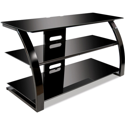 Bell'O PVS4204HG TV and Audio/Video Stand (Glossy Black)
