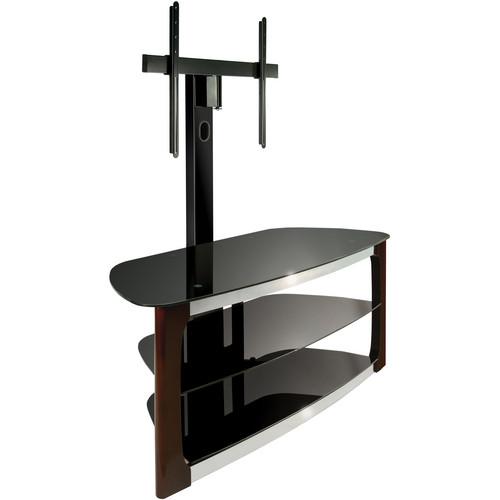Bell'O Triple Play TV Stand & 3-Shelf A/V Center (Dark Espresso)