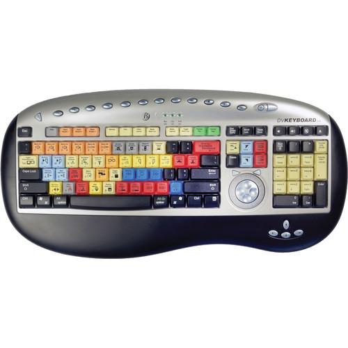 Bella DV Keyboard 3.0 with Edius Keycaps