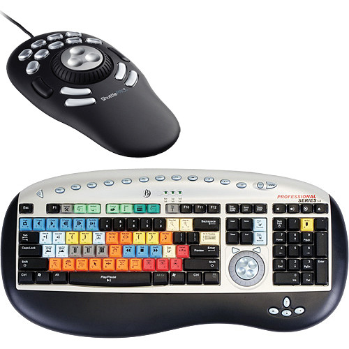 Bella Pro Keyboard for Premiere Pro With Multimedia Controller