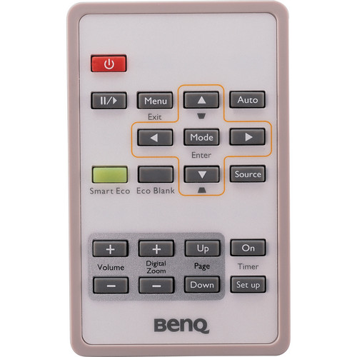 BenQ Replacement Remote Control f/ MX813ST/MW712