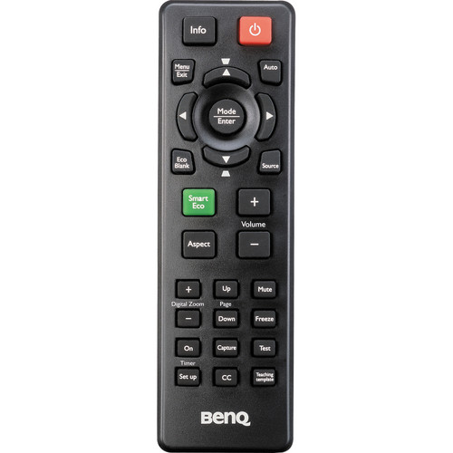 BenQ Remote Control f/ MS513/MX514/MW516