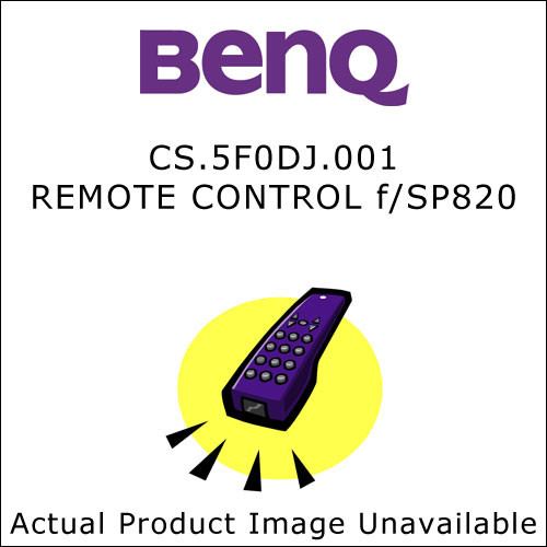 BenQ CS.5F0DJ.001 Replacement Remote Control for the BenQ SP820 Projector