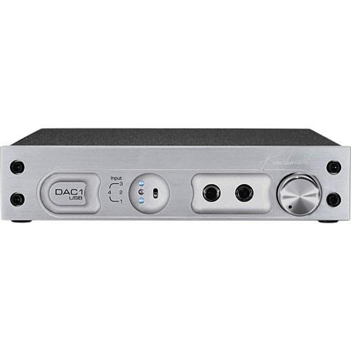 Benchmark DAC1 USB - Stereo D/A Converter - (110V) Silver