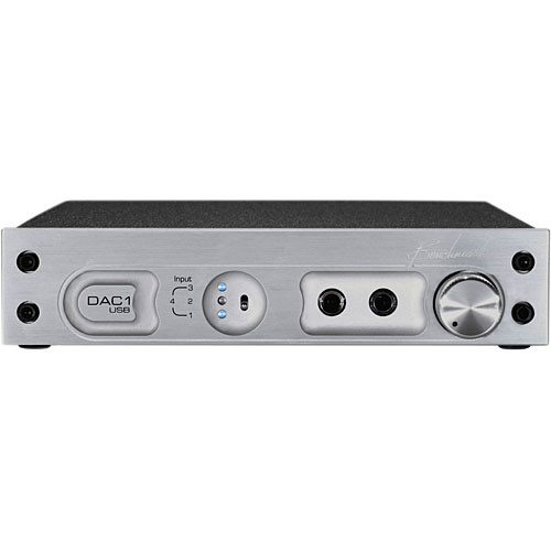 Benchmark DAC1 USB - Stereo D/A Converter - (220V) Silver