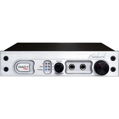 Benchmark DAC1 PRE - DAC with Stereo Preamp (110V, Silver)