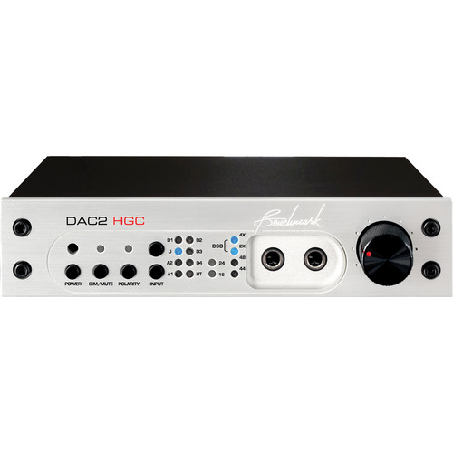 Benchmark DAC2-HGC Digital to Analog Converter (Silver)