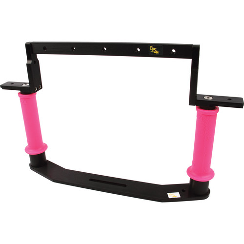 Beneath the Surface Dual Handle Tray Pkg TBD13500 for Sea & Sea MDX-7D Housing (Pink)
