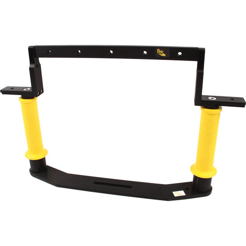 Beneath the Surface Dual Handle Tray Pkg TBD13500 for Sea & Sea MDX-7D Housing (Yellow)