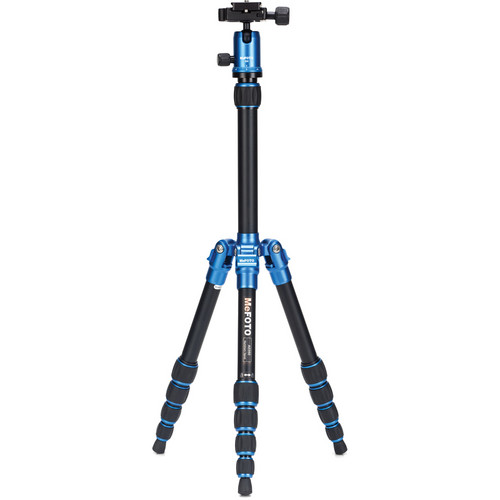 MeFOTO BackPacker Travel Tripod (Blue)