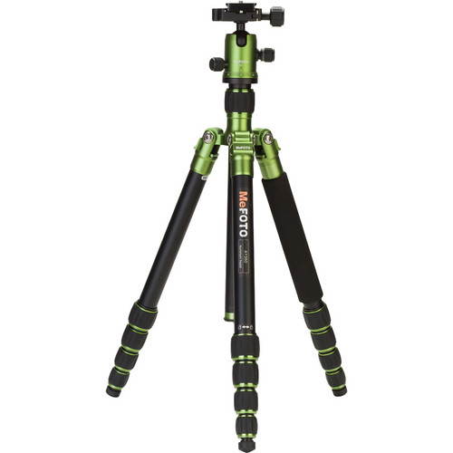 MeFOTO RoadTrip Aluminum Travel Tripod Kit (Green)