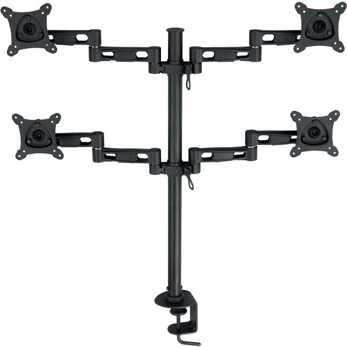 "Bentley Vertical Quad Monitor Stand (13-24"")"