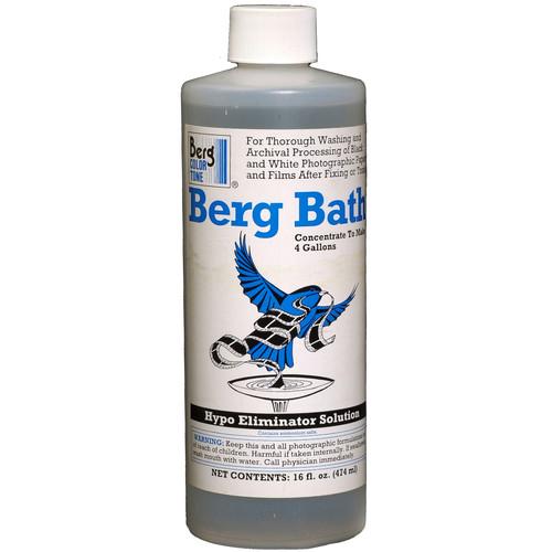 Berg Bath Hypo & Toning Solution Eliminator (Liquid) - 16 Oz.