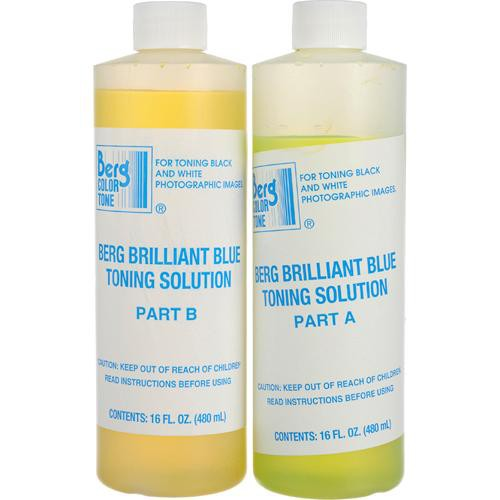 Berg Toner for Black & White Prints - Brilliant Blue