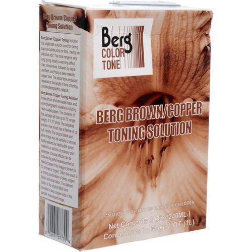 Berg Toner for Black & White Prints - Brown-Copper/ Makes 1 Quart