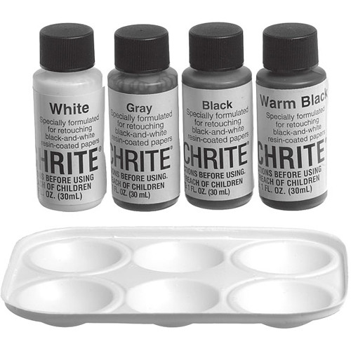 Berg Touchrite Retouching Kit for Black & White Prints