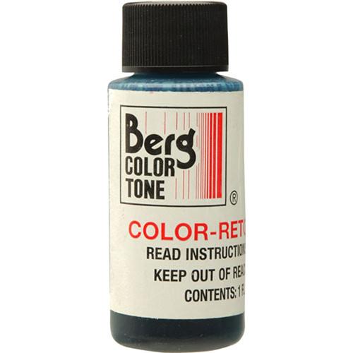 Berg Retouch Dye for Color Prints - Green/1 Oz.