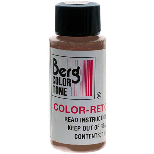 Berg Retouch Dye for Color Prints - Orange/Brown