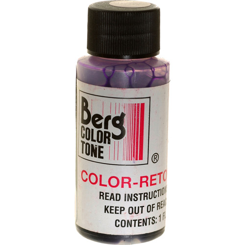 Berg Retouch Dye for Color Prints - Violet/1 Oz.
