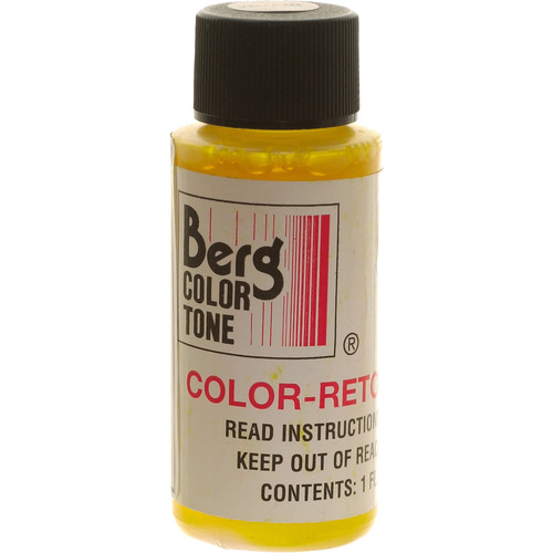 Berg Retouch Dye for Color Prints - Yellow