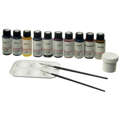 Berg Retouching Kit for Color Prints - 10 Colors