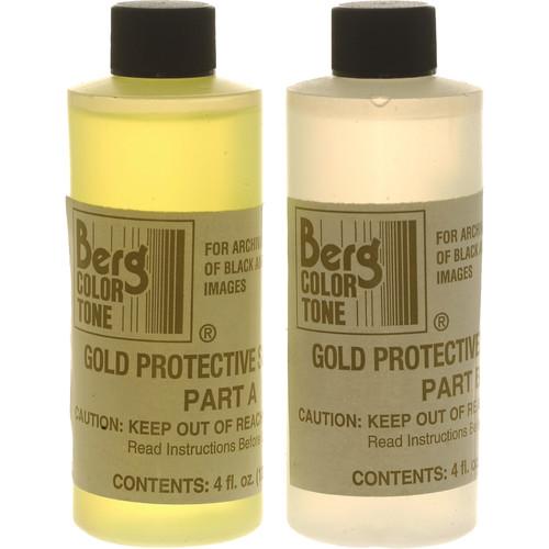 Berg Toner for Black & White Prints - Gold Protective (Makes 1 Quart)